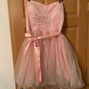 Strapless DEB Party Dress